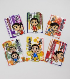 吉田沙保里 コラボレーション トレイディングカード(全6種)